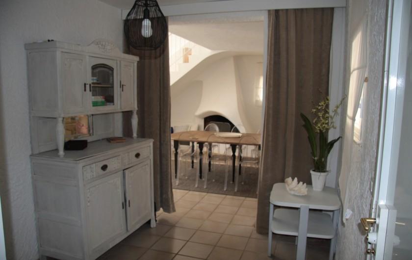 Location de vacances - Villa à Sainte-Maxime - Hall d'entrée