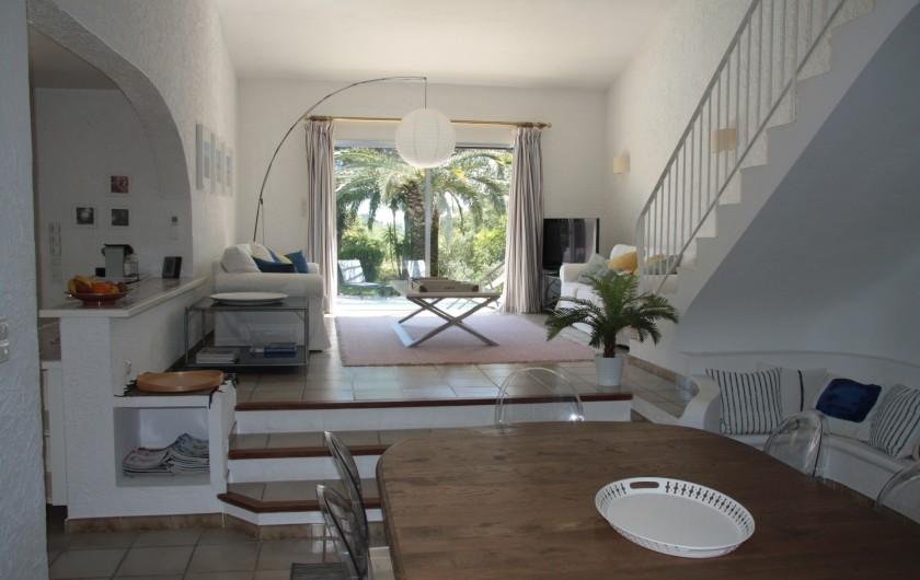 Location de vacances - Villa à Sainte-Maxime - Living