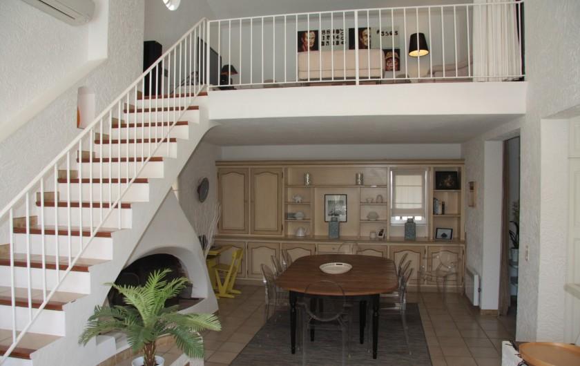 Location de vacances - Villa à Sainte-Maxime - Vue sur mezzanine
