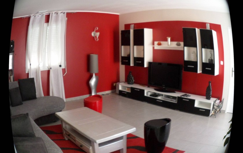 Location de vacances - Villa à Saint-Dézéry - salon