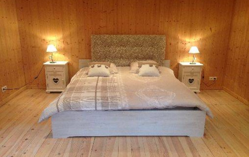 Location de vacances - Chalet à Grigneuseville - chambre