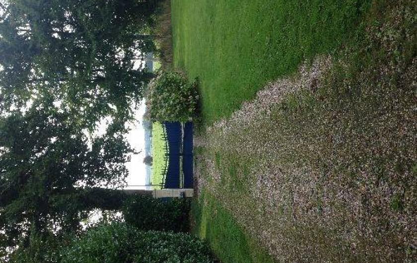 Location de vacances - Chalet à Grigneuseville - accès gite avec portail automatique
