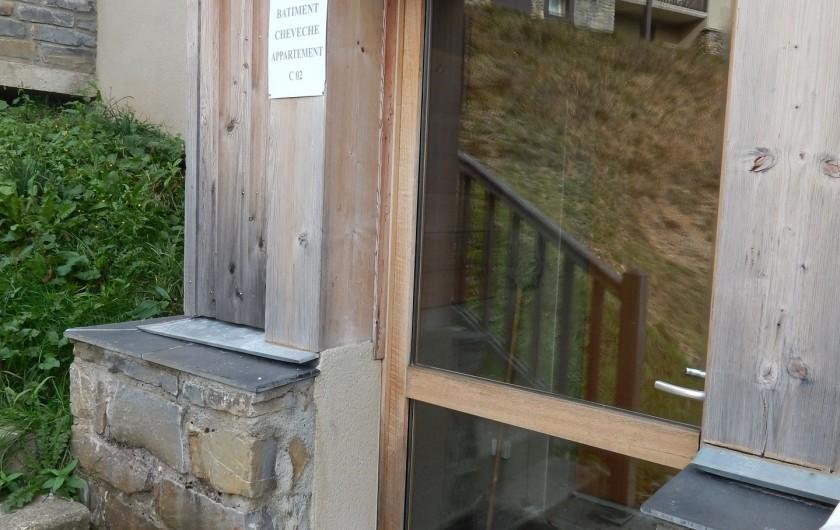 Location de vacances - Appartement à Loudenvielle - L'entrée, sas à skis.