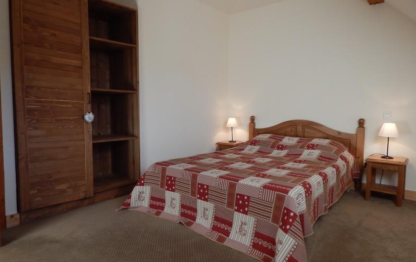 Location de vacances - Appartement à Loudenvielle - La chambre parentale.