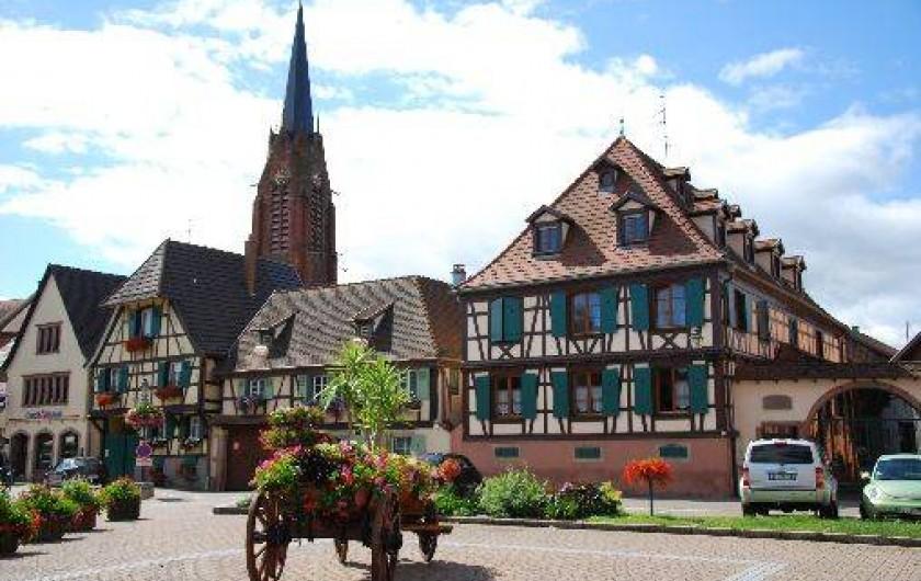 Location de vacances - Gîte à Scherwiller
