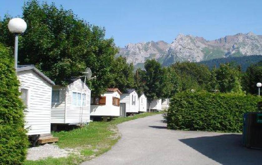Location de vacances - Camping à Le Grand-Bornand
