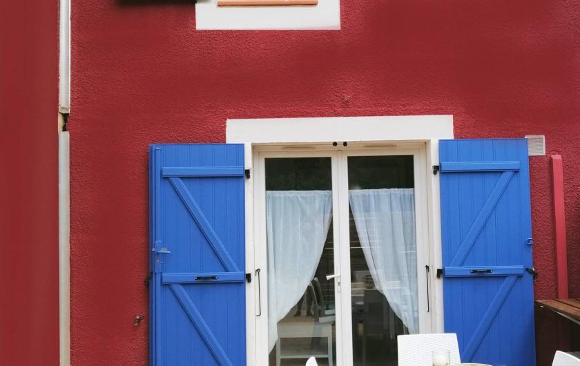 Location de vacances - Gîte à Torreilles - La terrasse