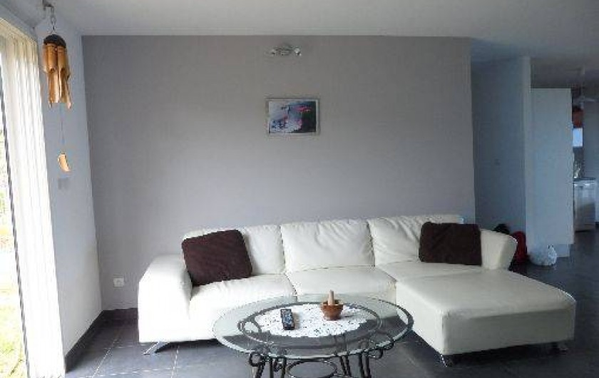 Location de vacances - Villa à Trois Bassins - salon en simili