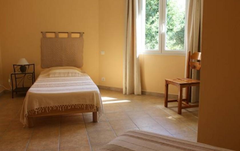 Location de vacances - Gîte à Vaison-la-Romaine - chambre 2
