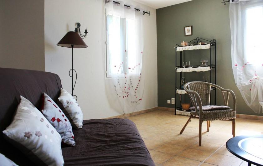 Location de vacances - Gîte à Vaison-la-Romaine - salon