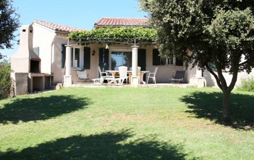 Location de vacances - Gîte à Vaison-la-Romaine - terrasse