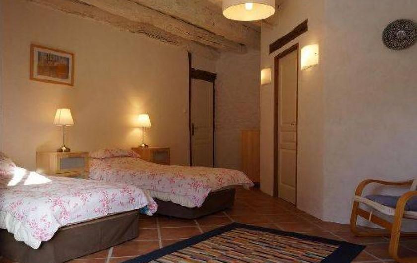 Location de vacances - Gîte à Saint-Amand-de-Coly - chambre 4 : 2 ou 3 personnes