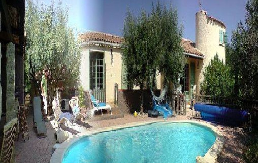 Location de vacances - Villa à Lédenon