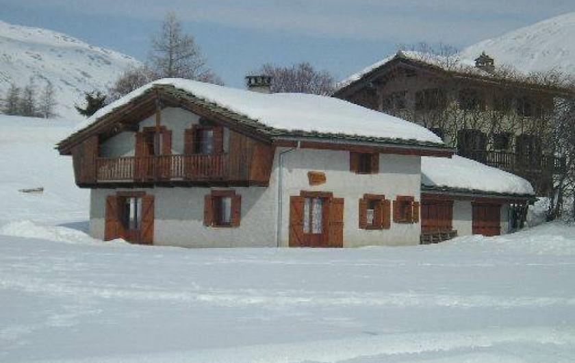 Location de vacances - Chalet à Bessans