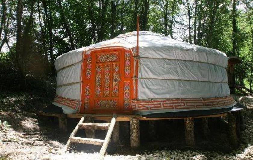 Location de vacances - Cabane dans les arbres à Chisseaux
