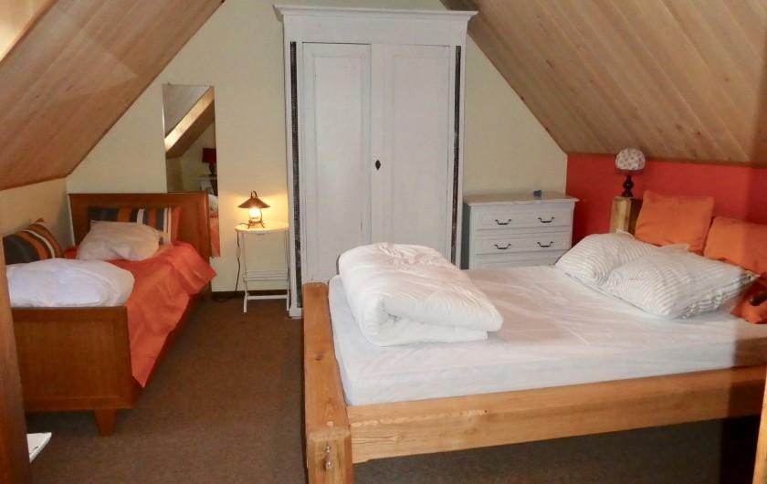 Location de vacances - Chalet à Vielle-Louron - chambre 3 au 2eme étage