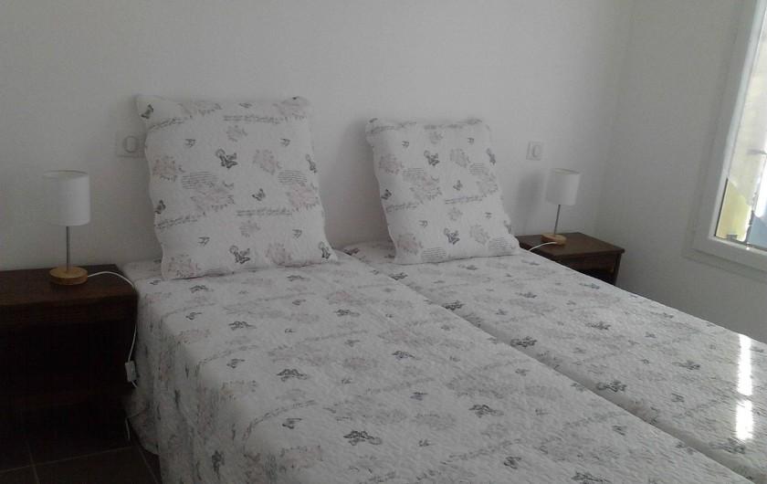 Location de vacances - Maison - Villa à Saint-Martin-d'Ardèche - chambre 2