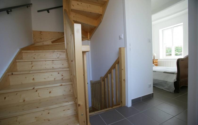 Location de vacances - Maison - Villa à Saint-Martin-d'Ardèche - escalier
