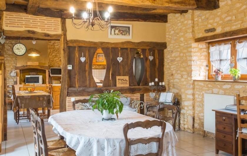 Location de vacances - Gîte à Pezuls - Salle à manger