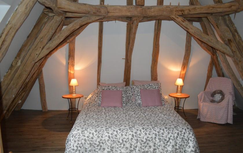 Location de vacances - Gîte à Pezuls - chambre lit 160x200