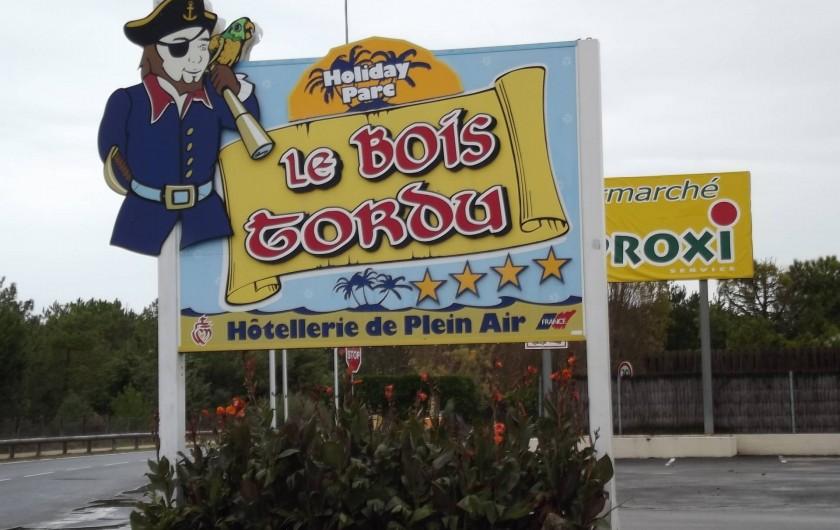 Location de vacances - Bungalow - Mobilhome à Saint-Hilaire-de-Riez - le bois tordu camping  4 étoiles