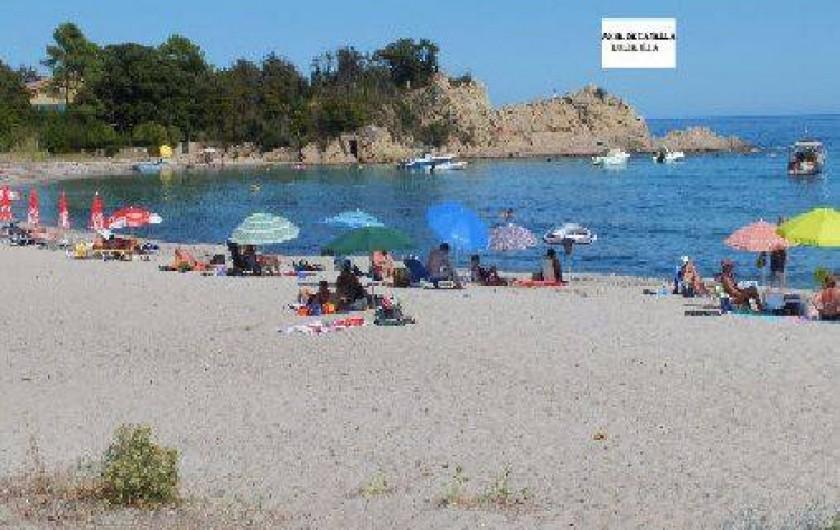 Location de vacances - Villa à Solaro - La plage de Canella à 10Km de la maison