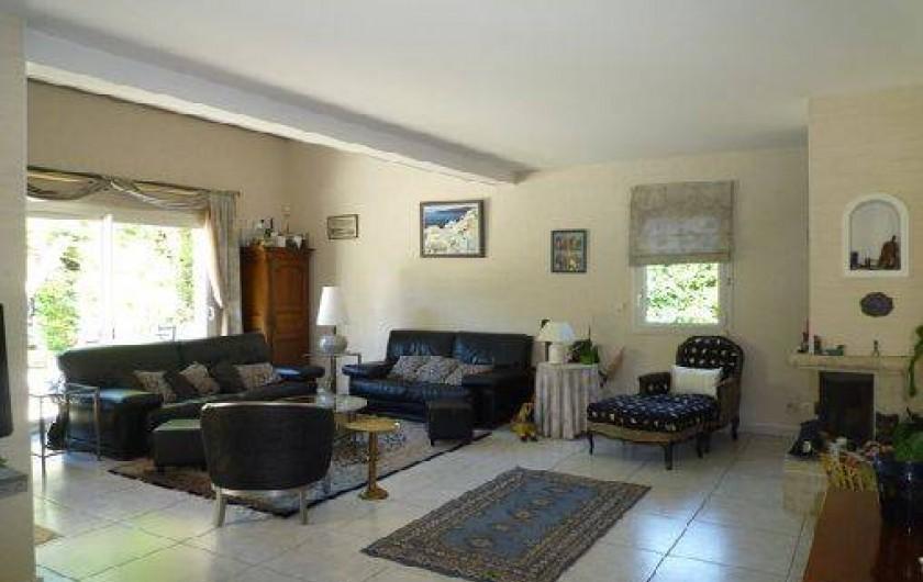 Location de vacances - Villa à Caluire-et-Cuire - le salon