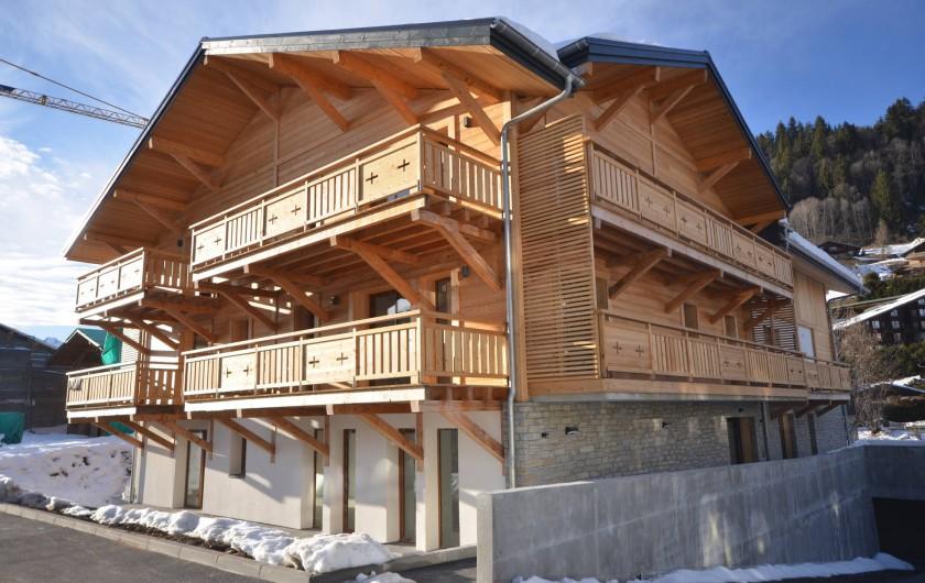 Location de vacances - Appartement à Les Gets - Chalet / vue d'ensemble