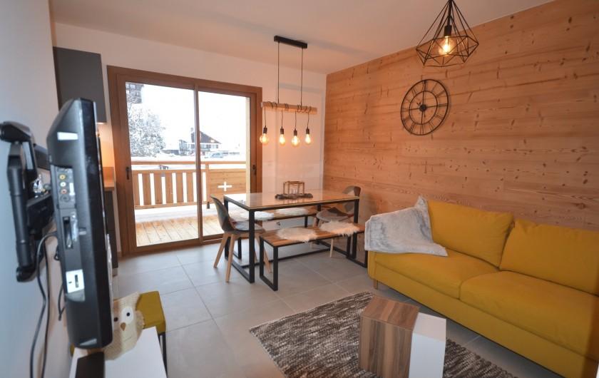 Location de vacances - Appartement à Les Gets - Vue intérieure