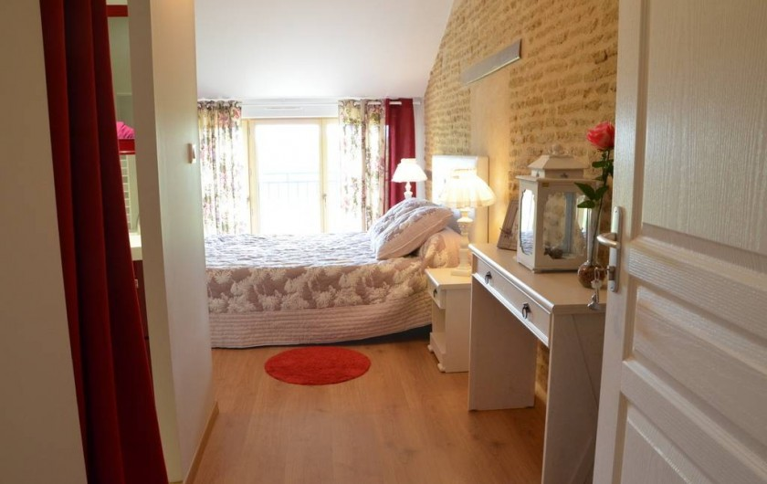Location de vacances - Chambre d'hôtes à Auty - Chambre familiale Mésange couchage 160/200