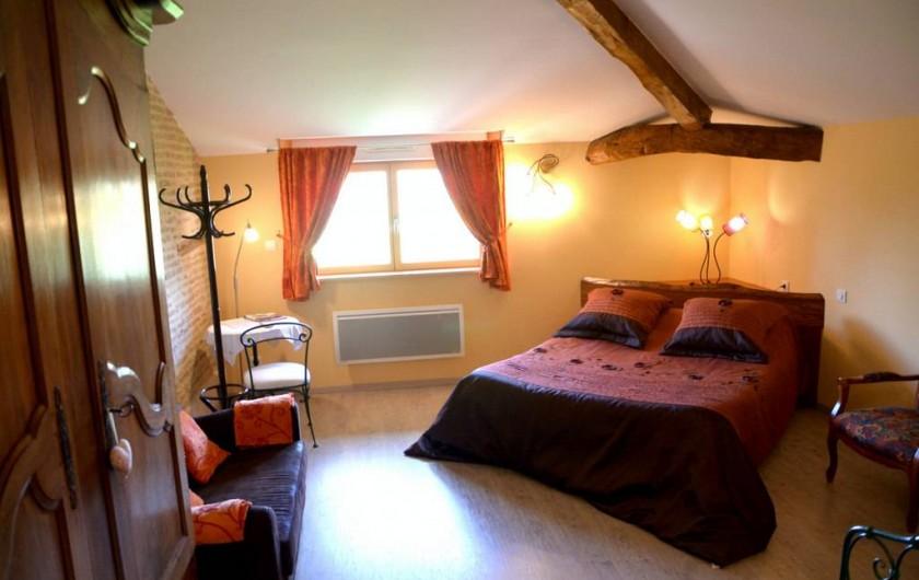 Location de vacances - Chambre d'hôtes à Auty - Chambre Hirondelle couchage 160/200