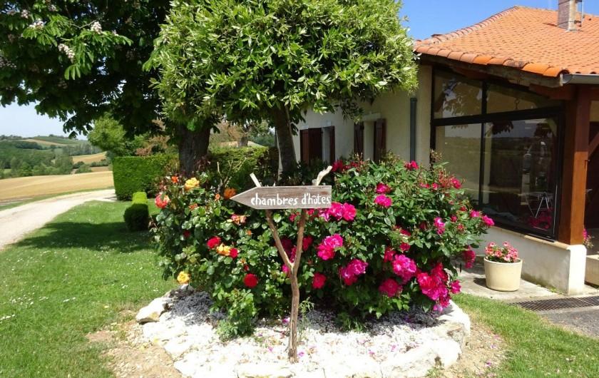 Location de vacances - Chambre d'hôtes à Auty - Arrivée à Fonbeilhe