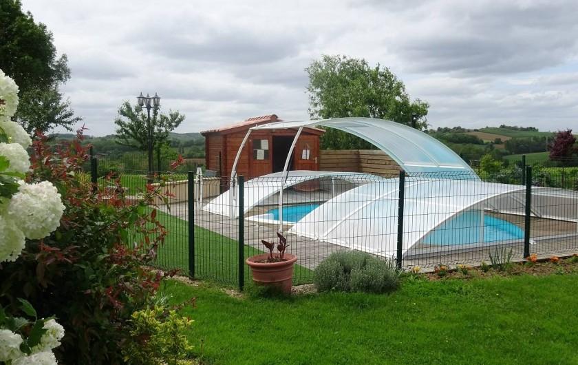 Location de vacances - Chambre d'hôtes à Auty - Piscine commune avec le propriétaire