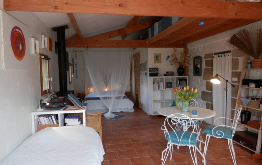 Location de vacances - Chambre d'hôtes à Faycelles - la grande suite où vous allez vous reposer...
