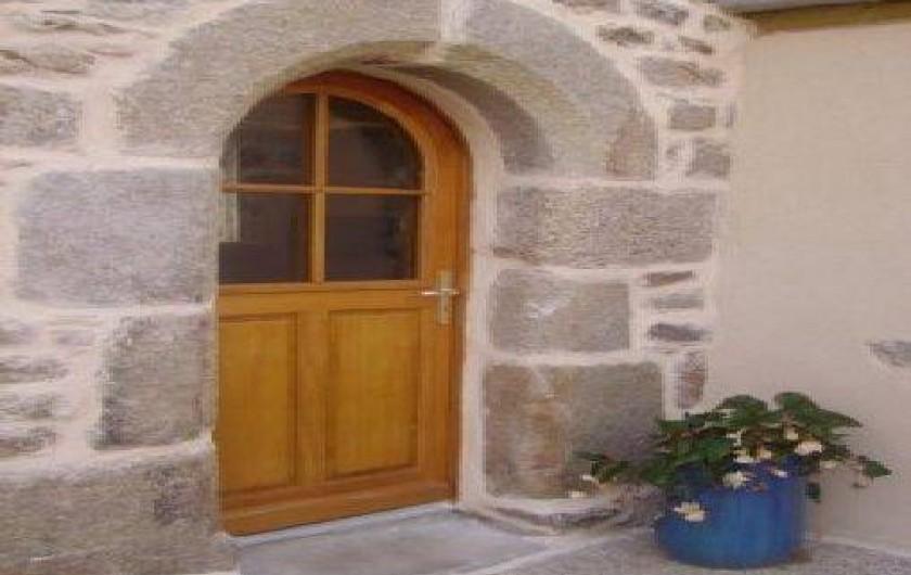 Location de vacances - Gîte à Tréflez - Porte d'entrée