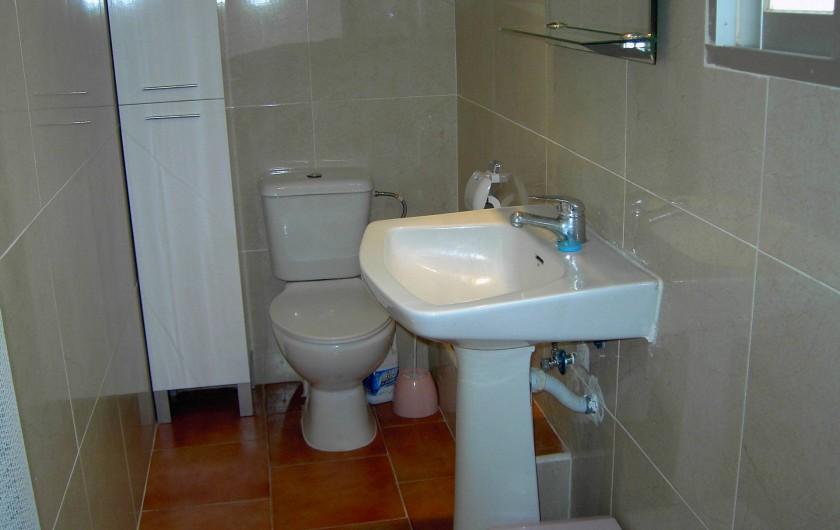Location de vacances - Appartement à Valence - salle de bain