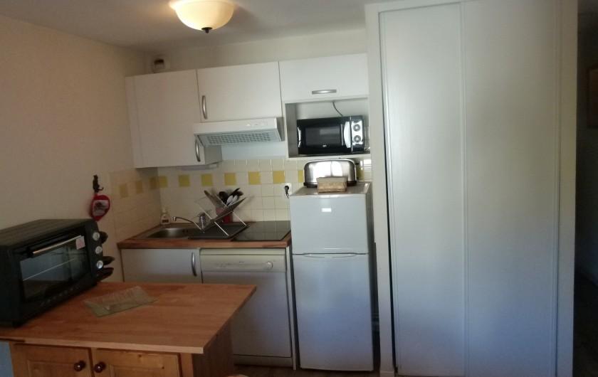 Location de vacances - Appartement à Saint-Lary-Soulan - cuisine