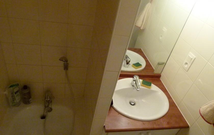 Location de vacances - Appartement à Saint-Lary-Soulan - Salle de bains