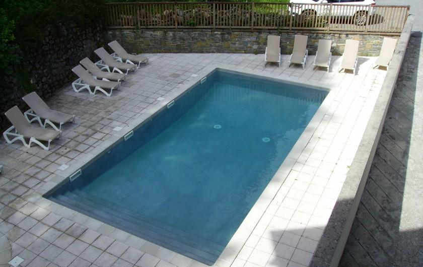 Location de vacances - Appartement à Saint-Lary-Soulan - piscine chauffée juillet et août