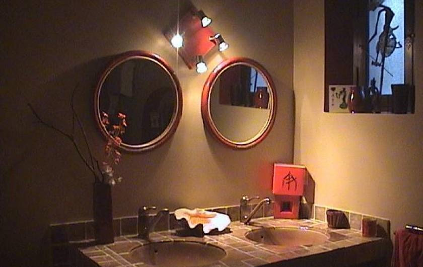 Location de vacances - Villa à Mandelieu-la-Napoule - salle de bain japonaise