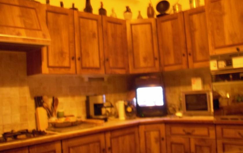 Location de vacances - Villa à Mandelieu-la-Napoule - cuisine provençale