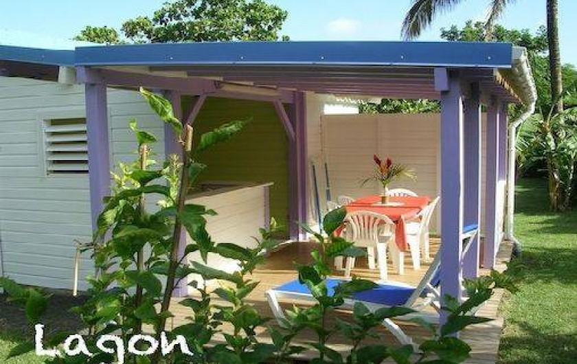 Location de vacances - Bungalow - Mobilhome à Deshaies - bungalow LAGON