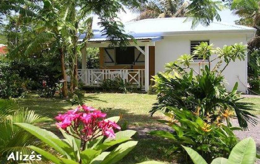 Location de vacances - Bungalow - Mobilhome à Deshaies - bungalow ALIZES