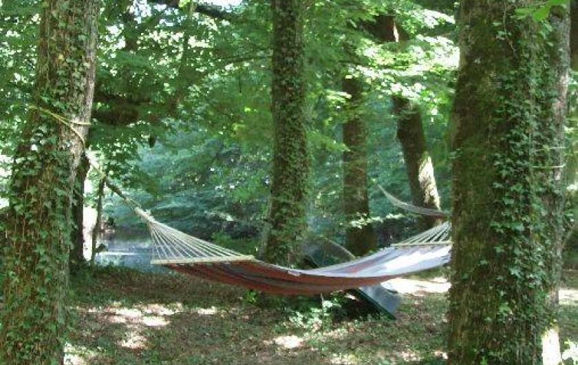Location de vacances - Maison - Villa à Franchesse - Un coin de sieste sous la clairière
