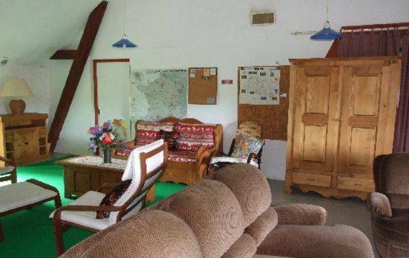 Location de vacances - Maison - Villa à Franchesse - salon de détente chambres d'hôtes