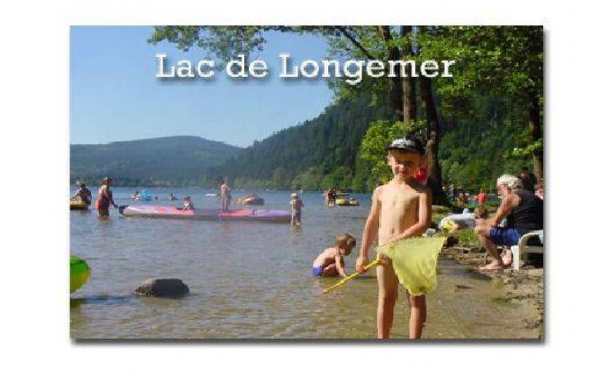 Location de vacances - Gîte à La Bresse - Baignade lac htes Vosges