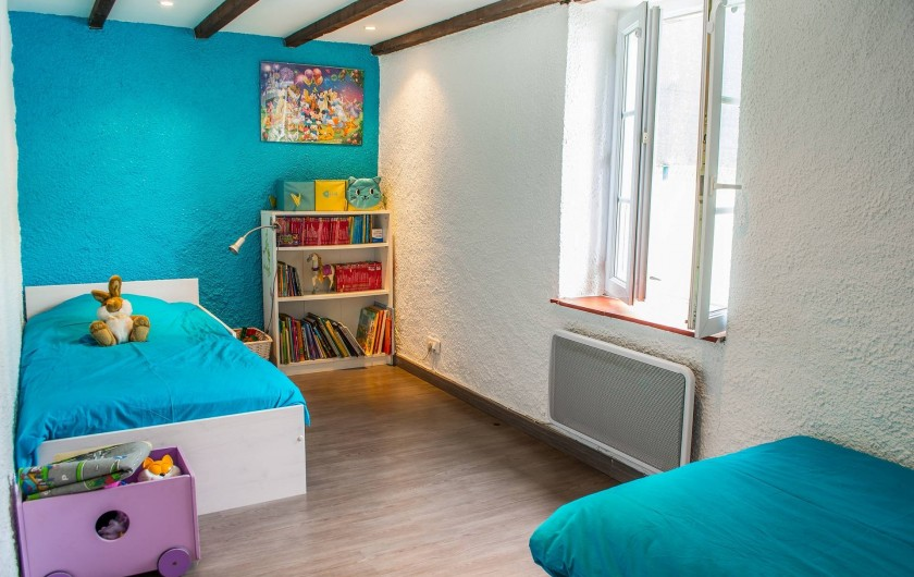 Location de vacances - Villa à Catus - Chambre 2 lits simples RDC