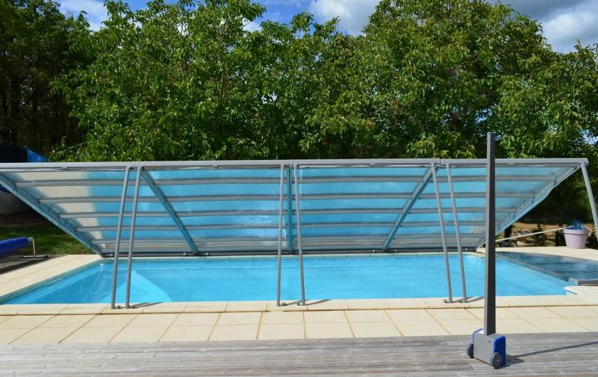 Location de vacances - Villa à Catus - Abri piscine pour l'inter saison