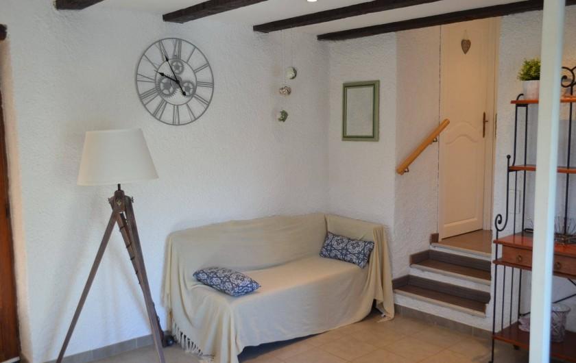 Location de vacances - Villa à Catus - Coin détente pièce principale