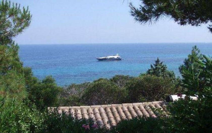 Location de vacances - Villa à Sainte-Lucie de Porto-Vecchio - Vue de la lacation
